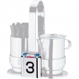 Toothpick- and sweetener box-holder Pure