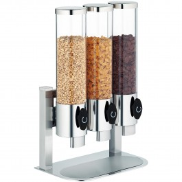 Cereal dispenser, in-line Manhattan