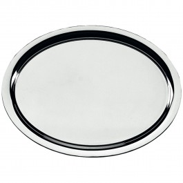 Serving tray, oval Neutral