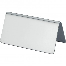 Table number Neutral silverplated