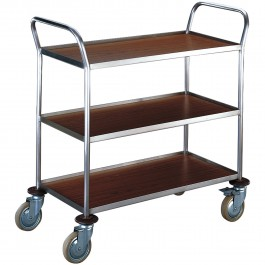 3 shelves, compact model Standard