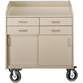 Serving trolley light grey Standard