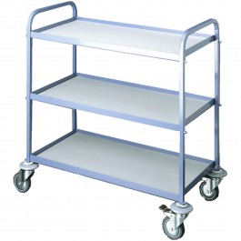 Serving trolley blue / grey Standard