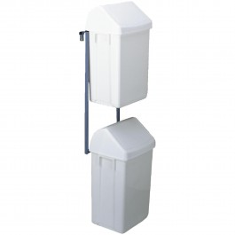 Container-unit (2 pcs. incl. holder) for large carts Standard