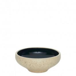 Dip Bowl round LAGOON bicolor dark Ø 11.5 cm