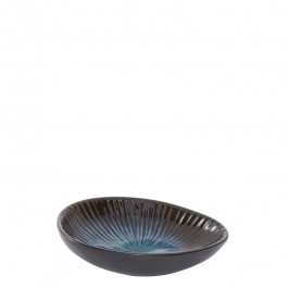 Dip Bowl oval DEEP OCEAN blue 12x8.7 cm