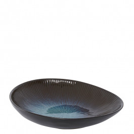 Bowl coup oval DEEP OCEAN blue 26x23 cm