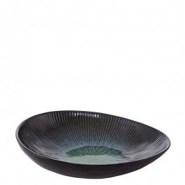 Bowl coup oval DEEP OCEAN green 26x23 cm