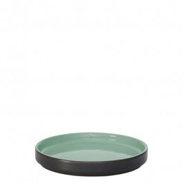 Plate flat GEO green Ø 14 cm