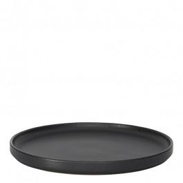 Plate flat GEO graphite Ø 26 cm