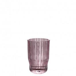 Glass rose h 12 cm
