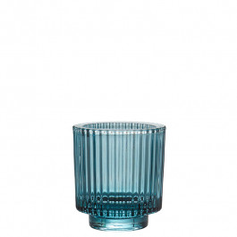 Glass blue h 8,5 cm