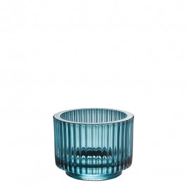 Glass blue h 7 cm