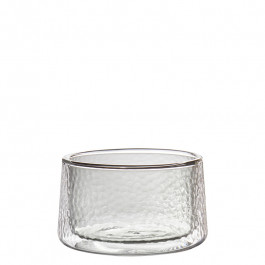 Glass double-walled smoke 7cm