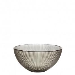 Glass Bowl smoke h 7,5 cm