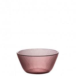 Glass Bowl rose h 5 cm