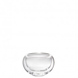 Glass bowl double-walled 4,5 cm