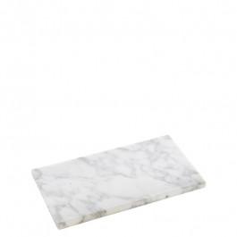 Plate marble white 23,5x13x 1,2 cm