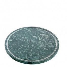 Plate M marble green Ø23 cm