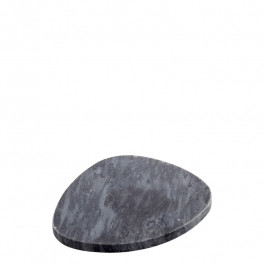 Plate marble black 13x11 cm