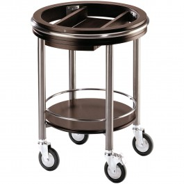 Serving trolley round - basic model Pure